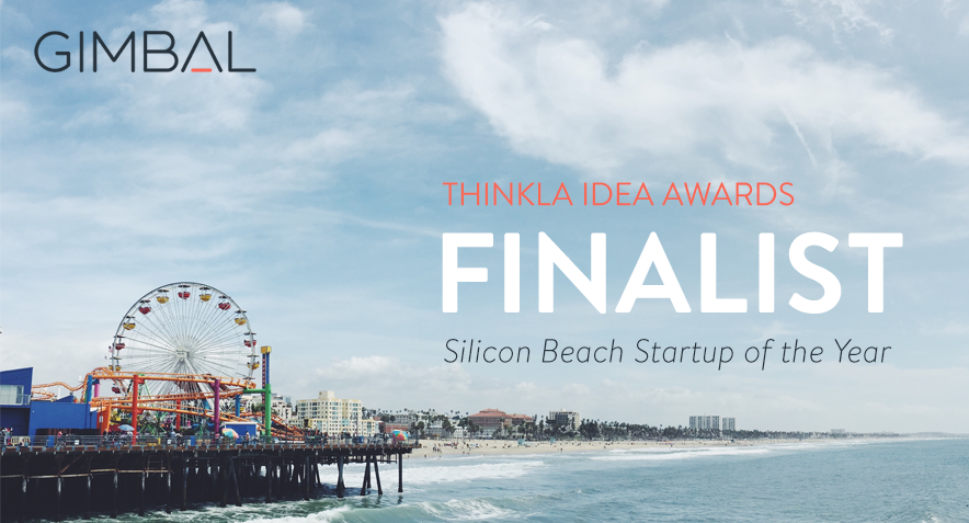 Gimbal a Finalist for ThinkLA's 'Silicon Beach Startup of the Year' Award