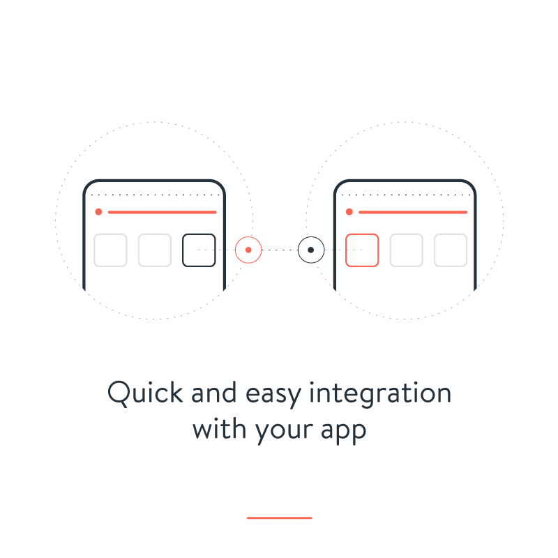 Quick & Easy Integration with your App